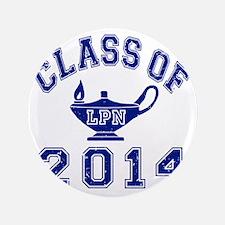 """Class Of 2014 LPN 3.5"""" Button"""