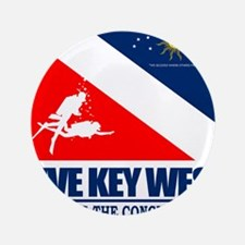 "Dive Key West 3.5"" Button"