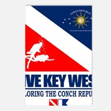 Dive Key West Postcards (Package of 8)
