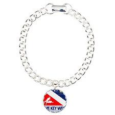 Dive Key West Charm Bracelet, One Charm