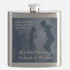 Dancing in the Rain Flask
