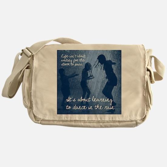 Dancing in the Rain Messenger Bag