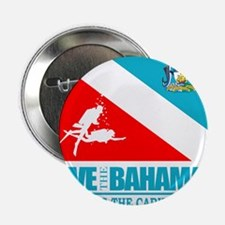 "Dive Bahamas 2.25"" Button"