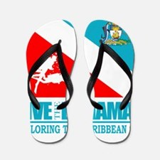 Dive Bahamas Flip Flops