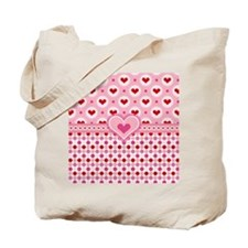 Country Hearts Tote Bag