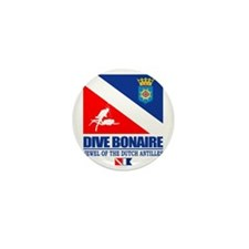 Dive Bonaire Mini Button