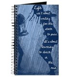 Dance in rain Journals & Spiral Notebooks