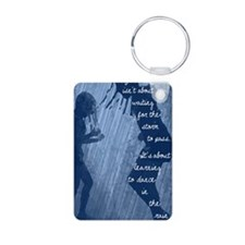Dancing in the Rain Keychains
