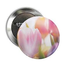 "Beautiful Tulips 2.25"" Button"