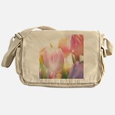 Beautiful Tulips Messenger Bag