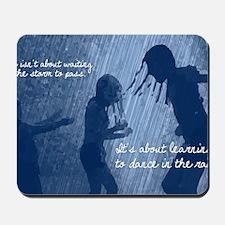 Dancing in the Rain Mousepad