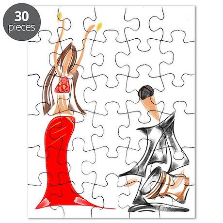Amina and Haroun Puzzle