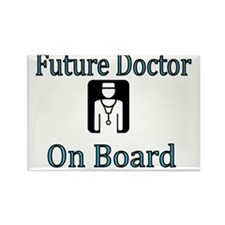 Future Doctor on Board Rectangle Magnet