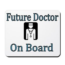 Future Doctor on Board Mousepad