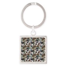puppies and kittens Square Keychain