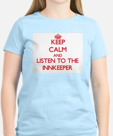 Keep Calm and Listen to the Innkeeper T-Shirt