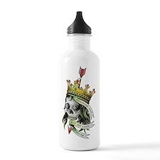 skull crown 2 Water Bottle