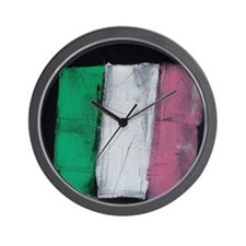 Republic of Newfoundland Flag Painted Wall Clock