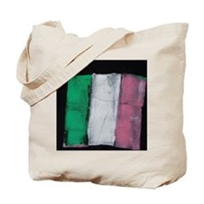 Republic of Newfoundland Flag Painted Tote Bag
