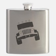Jeepster Rock Crawler Flask