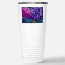 The Hideaway - Purple a Stainless Steel Travel Mug