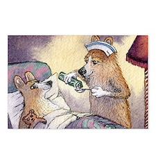 Corgi Nightingale nurse d Postcards (Package of 8)