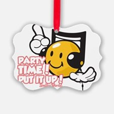 Party Time Smiley Ornament
