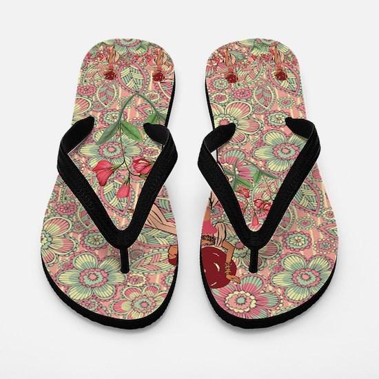 gypsy girl Flip Flops