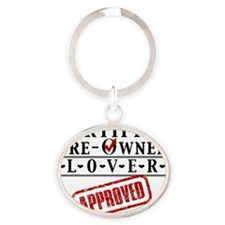 Certified Pre-Owned Lover Oval Keychain