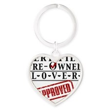 Certified Pre-Owned Lover Heart Keychain