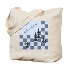 Chess King Pieces Tote Bag