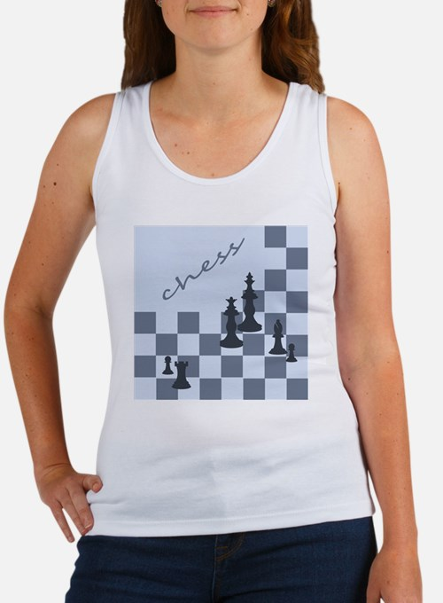 Chess King Pieces Women's Tank Top