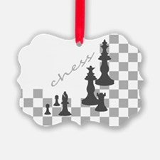 Chess King and Pieces Ornament