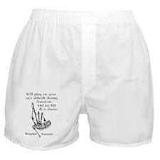 Bagpipe Assassin Boxer Shorts