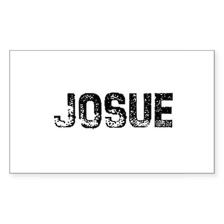 Josue Rectangle Sticker