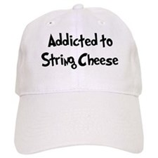 Addicted to String Cheese Baseball Cap