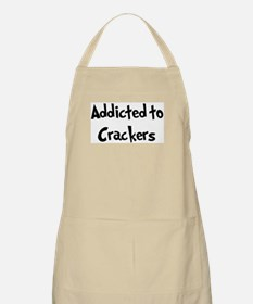 Addicted to Crackers BBQ Apron