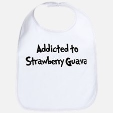 Addicted to Strawberry Guava Bib