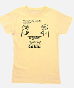 Hipsters of Catan Girl's Tee