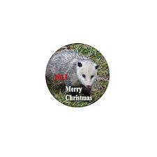 Opossum Mini Button