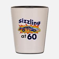 60 Sizzler Hot Rod Shot Glass