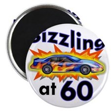 60 Sizzler Hot Rod Magnet