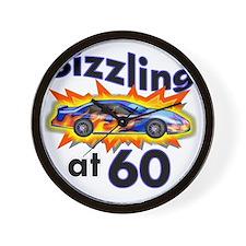 60 Sizzler Hot Rod Wall Clock