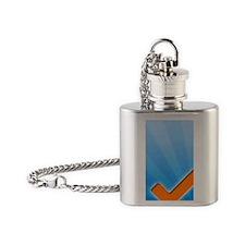 Toodledo iPhone Case Flask Necklace
