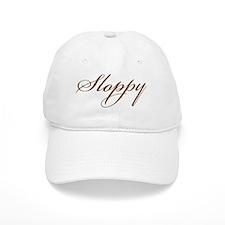 Sloppy  Brown Script Baseball Cap