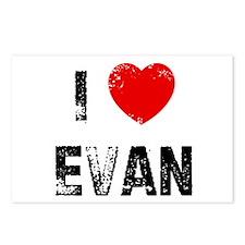 I * Evan Postcards (Package of 8)
