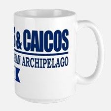 Dive Turks and Caicos Large Mug