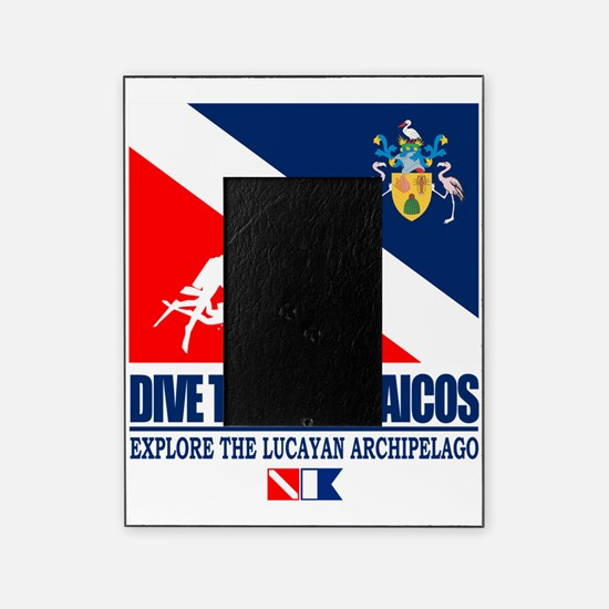 Dive Turks  and Caicos Picture Frame