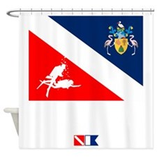 Dive Turks  and Caicos Shower Curtain