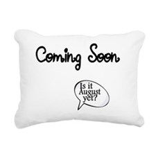 Coming Soon. Is it Augus Rectangular Canvas Pillow